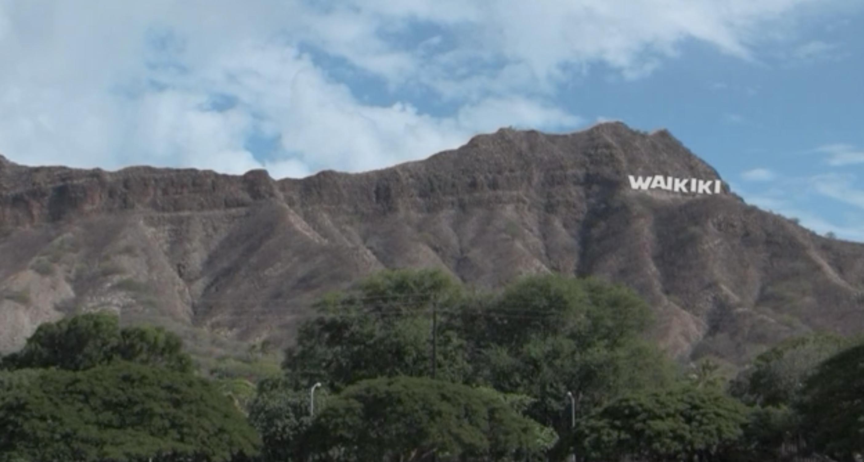 Waikiki Sign